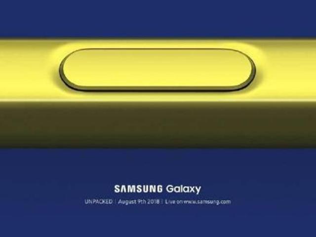 Lộ S Pen trên Galaxy Note 9 cho phép người dùng điều khiển phát lại nhạc