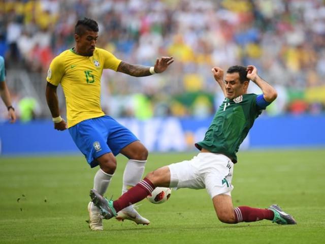 """Trực tiếp bóng đá World Cup Brazil - Mexico: """"Điệu Samba"""" cuồng nhiệt, Neymar tiếc nuối"""