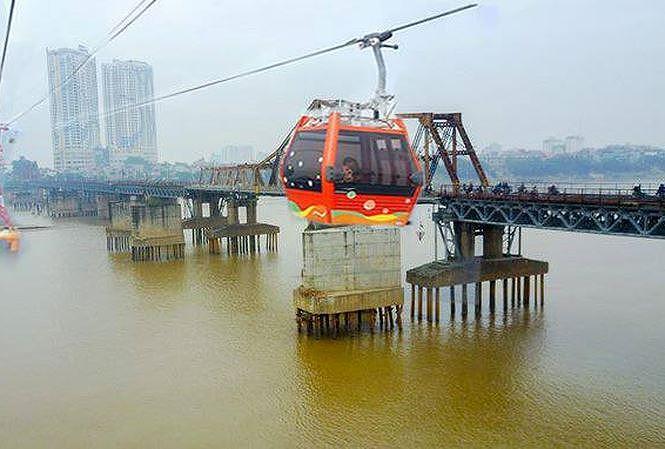 1.300 tỷ đồng cho 5 km cáp treo qua sông Hồng - 1