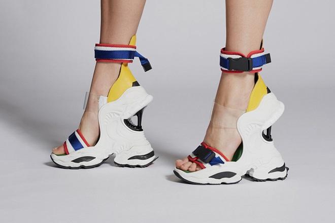"""Giày cao gót lai sneaker """"siêu tưởng"""" của Dsquared2 - 1"""