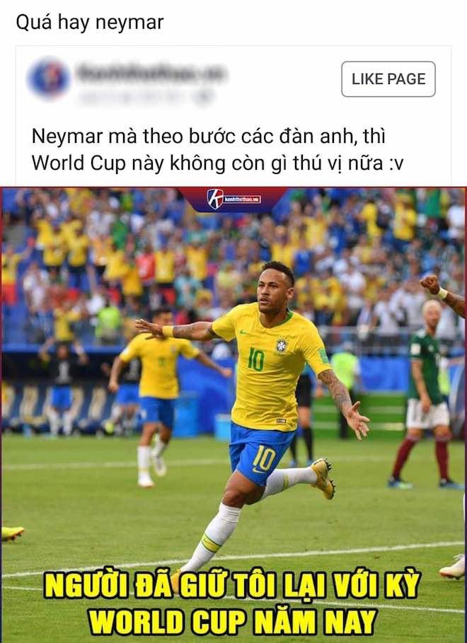 World Cup 2018: Dân mạng chế ảnh Messi kêu về, Neymar nói không - 1