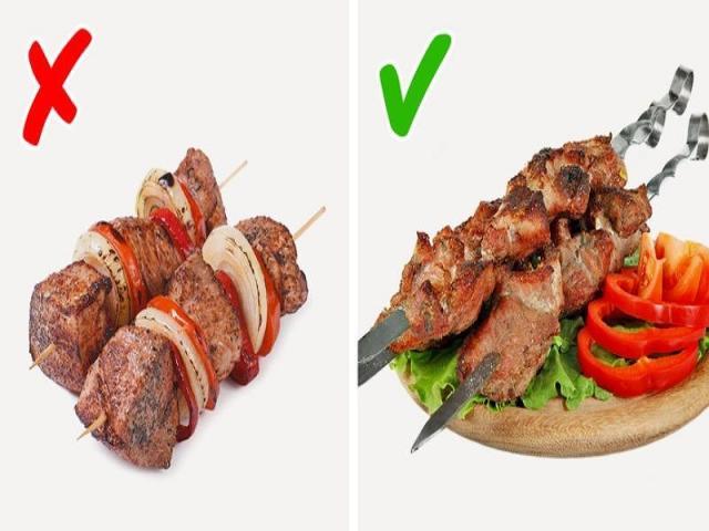Làm sao để nướng một xiên thịt ngon như nhà hàng