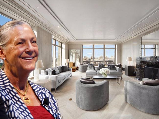 Alice có một căn hộ ở quận trung tâm Park Avenue, New York. Bà mua nó vào năm 2014 với giá 25 triệu USD. Căn hộ rộng gần 560m2, có 52 cửa sổ lớn nhìn ra công viên trung tâm thành phố.