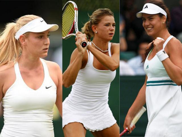"""4 mỹ nhân lạ """"làm loạn"""" Wimbledon: """"Đốn tim"""" CĐV, tiễn 4 SAO về nước"""