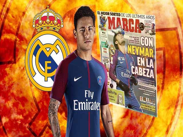 """Bàng hoàng World Cup: Real mua """"ông trùm"""" Neymar 7 năm, giá 310 triệu euro"""