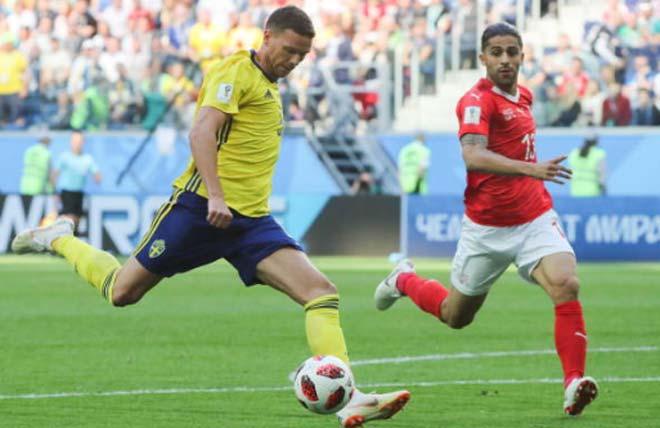 Thụy Điển - Thụy Sĩ: Khoảnh khắc ngôi sao, dấu chấm hết thẻ đỏ (World Cup 2018) - 1