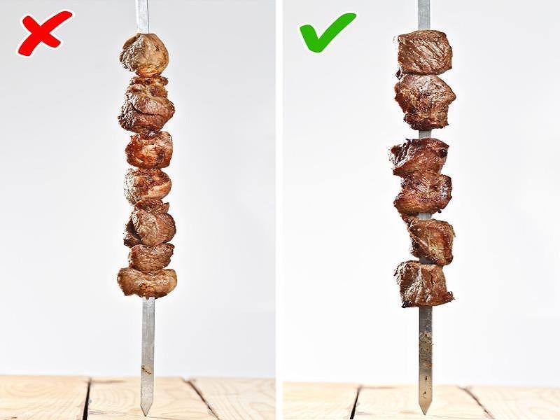 Làm sao để nướng một xiên thịt ngon như nhà hàng - 1