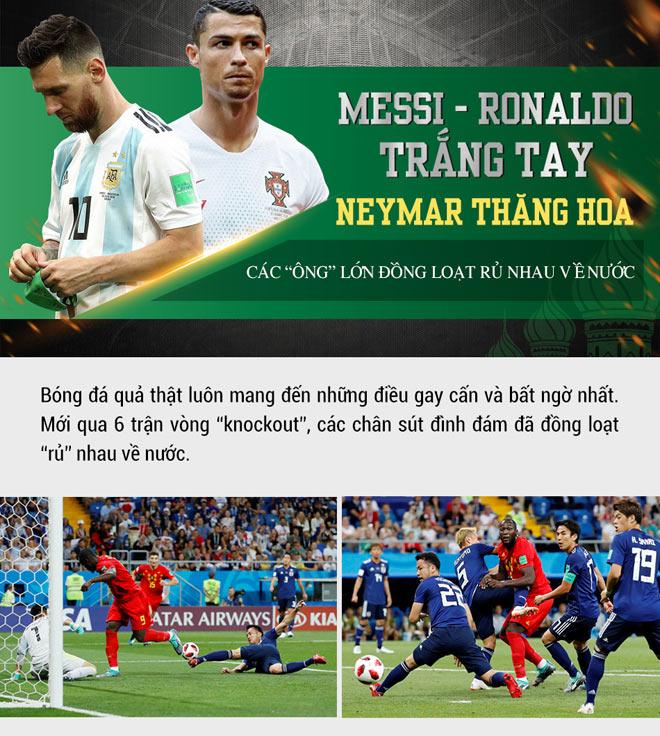"""Messi – Ronaldo trắng tay - Neymar thăng hoa - Các """"ông lớn"""" đồng loạt rủ nhau về nước. - 1"""