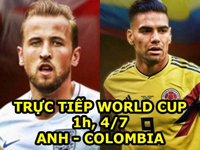 Trực tiếp bóng đá World Cup Anh - Colombia: Rashford sẵn lòng đá 11m (vòng 1/8)