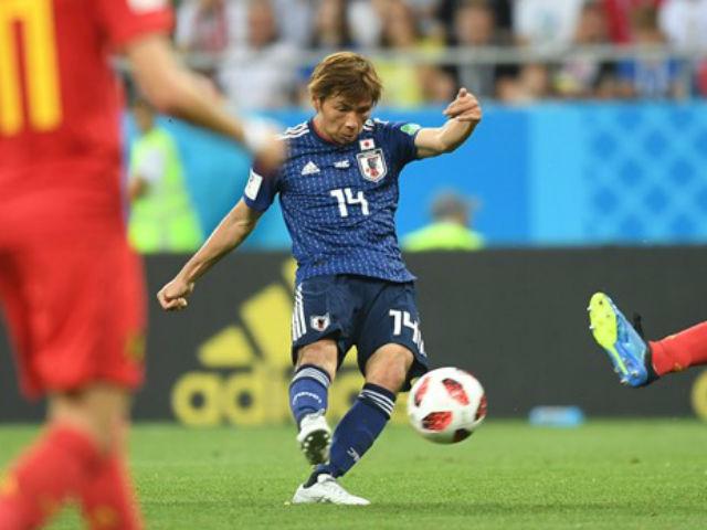 """Tuyệt tác World Cup: SAO Nhật Bản """"nã rocket"""" đánh gục siêu thủ môn Bỉ"""