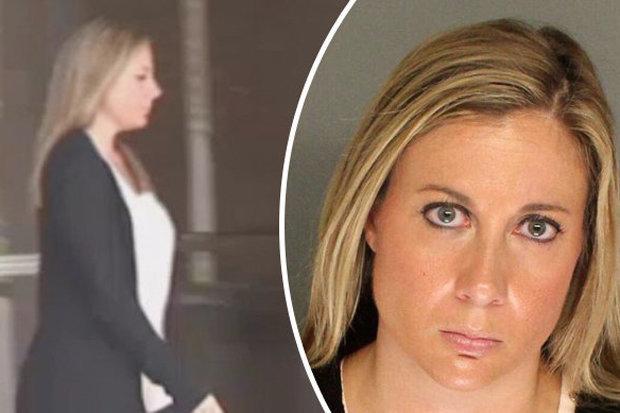Bị bắt vì quan hệ với học sinh, nữ giáo viên Mỹ vẫn tái phạm - 1
