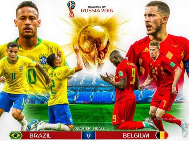 """""""Chung kết sớm"""" World Cup, Brazil - Bỉ: Hoa mỹ nhất, hùng mạnh nhất"""