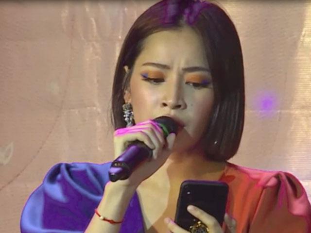 """Chi Pu hụt hơi hát hit Mỹ Tâm, khán giả nghe """"thấy mệt"""""""