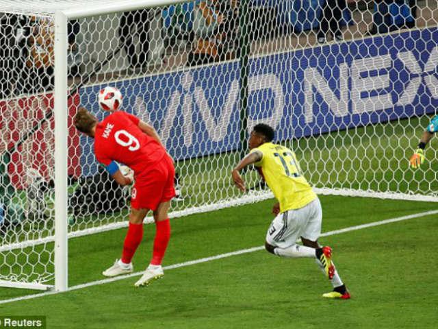 Thảm họa World Cup, Colombia tặng phạt đền: Kane ghi bàn thứ 6