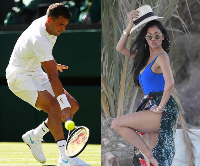"""""""Tiểu Federer"""" rời Wimbledon: Bồ xinh vẫn """"xõa"""" hết mình, mối tình sắp đổ vỡ? - 1"""