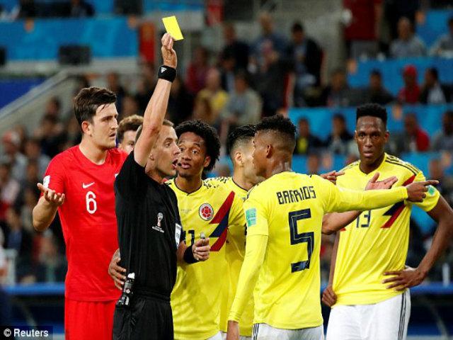 Anh - Colombia: Vỡ òa phút 90+3, 10 lượt luân lưu cân não (World Cup 2018)