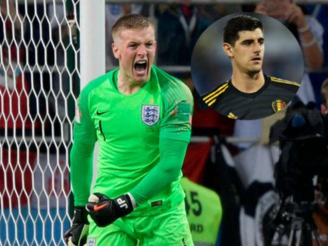 """ĐT Anh vào tứ kết World Cup: """"Người nhện"""" Pickford lộ bí quyết bắt 11m cực đỉnh - 1"""