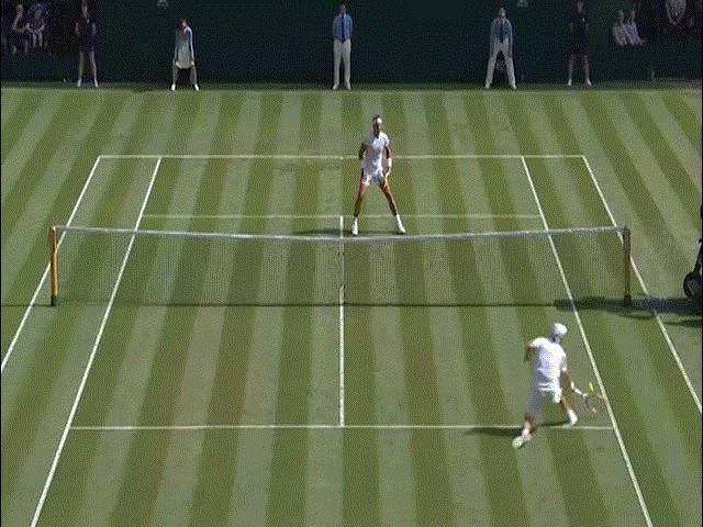 Thể thao - Clip hot Wimbledon: Nadal móc ngược kinh điển, khán đài dậy sóng