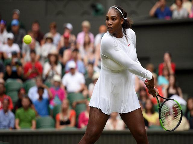 Serena Williams - Tomova: Sức mạnh tuyệt đối (Vòng 2 Wimbledon 2018)