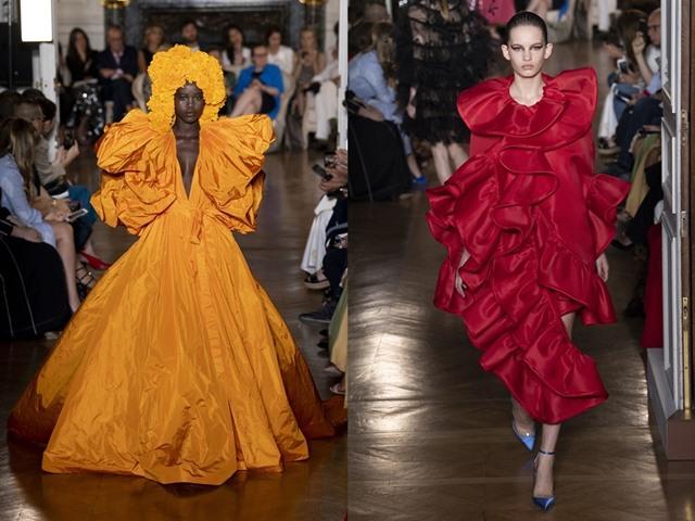 Chìm trong tiệc sắc màu mê hoặc của Valentino