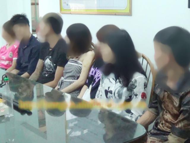 4 cô gái thác loạn cùng 3 thanh niên trong căn nhà trọ