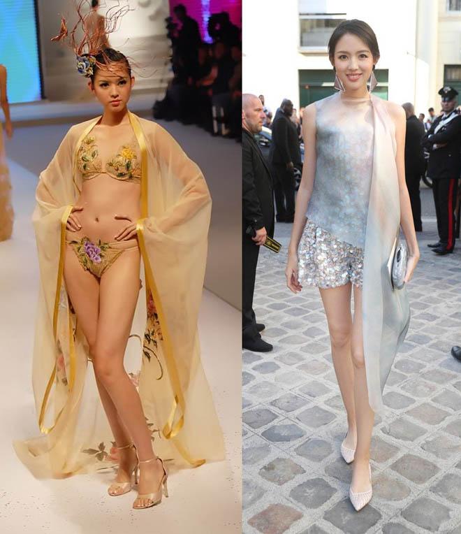 """Trương Tử Lâm, """"đệ nhất mỹ nữ Bắc Kinh"""" đẹp mê hồn khi xem thời trang - 1"""