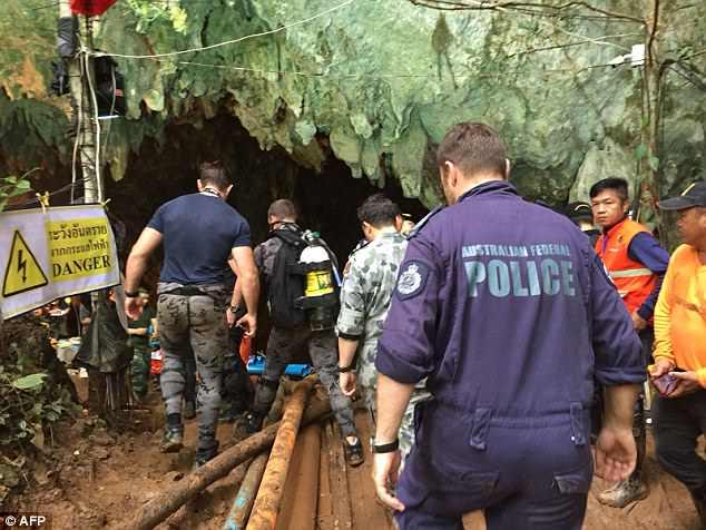 Lỗ thông bí ẩn có thể giúp đội bóng Thái Lan thoát khỏi hang sâu? - 1