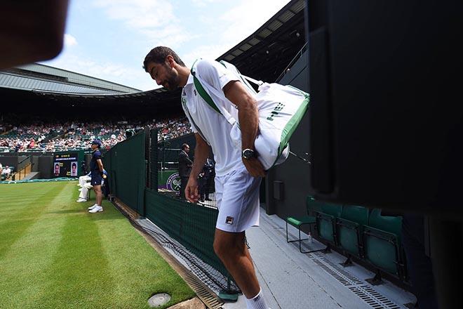 Wimbledon ngày 4: Del Potro, Nishikori thẳng tiến, cú sốc từ Cilic - 1