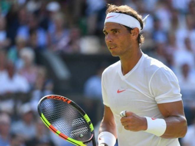 """Nadal - Kukushkin: Bản lĩnh """"bò tót"""", set 3 siêu kịch tính (Vòng 2 Wimbledon) - 1"""