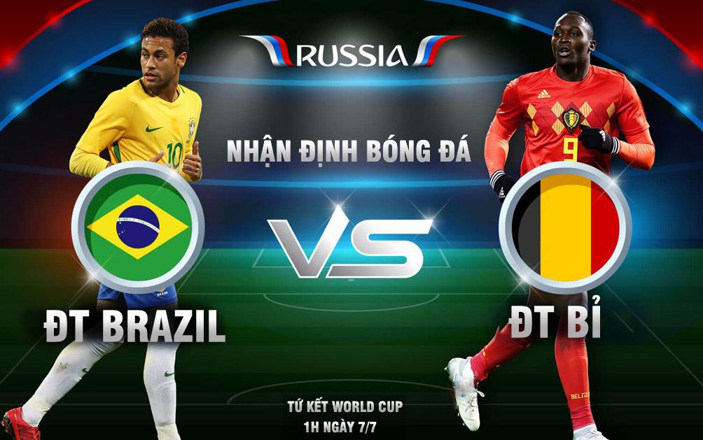 "World Cup, Brazil - Bỉ: Neymar đấu Hazard, rực lửa ""chung kết sớm"" - 1"
