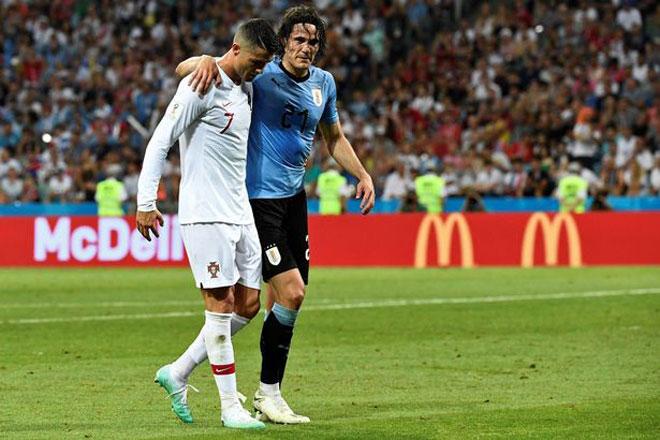 """Tứ kết World Cup: """"Sát thủ"""" Cavani dính hạn, Uruguay đại nguy, Pháp mừng rỡ - 1"""