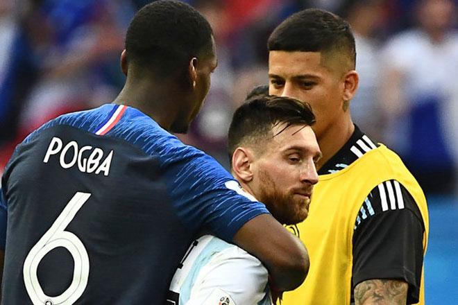 Trực tiếp Tứ kết World Cup 5/7: Pogba tiết lộ thần tượng trước đại chiến Uruguay - 1