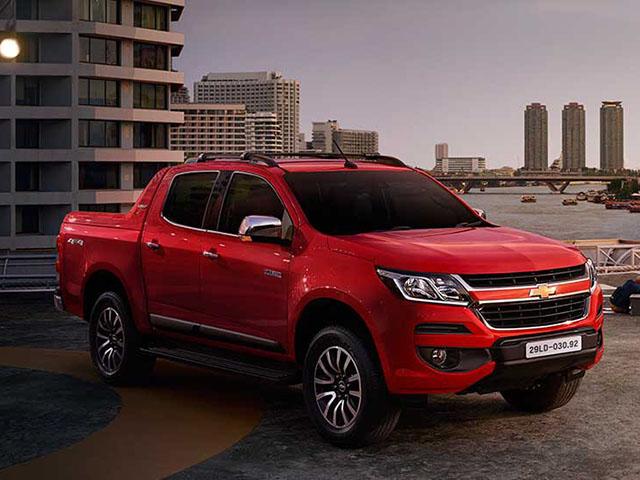Chevrolet ra mắt Colorado phiên bản mới kèm giá bán hấp dẫn