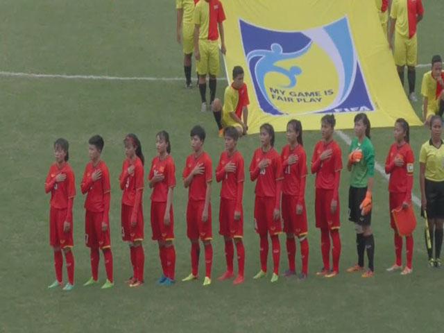 ĐT nữ Việt Nam - Singapore: 10 bàn cách biệt, sức mạnh tuyệt đối - 1