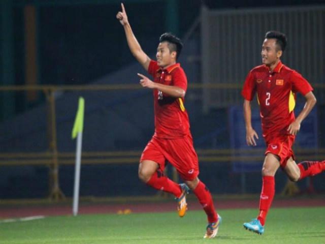 """U19 Việt Nam - U19 Lào: Sức mạnh kinh hoàng, 4 """"cú đấm"""" chí mạng"""