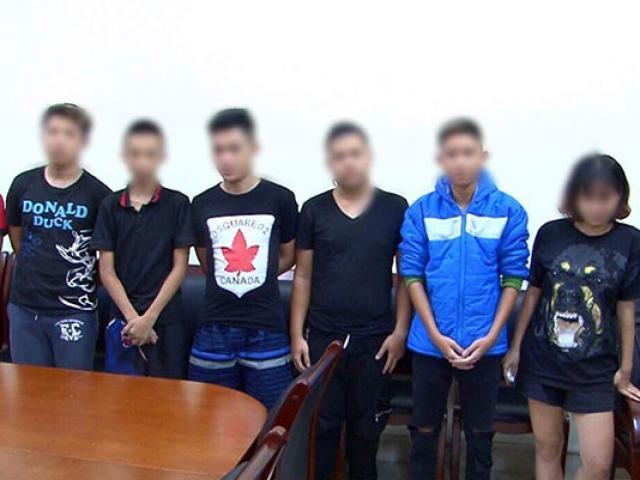 Thiếu nữ 16 tuổi và 6 nam thiếu niên náo loạn phố đêm World Cup