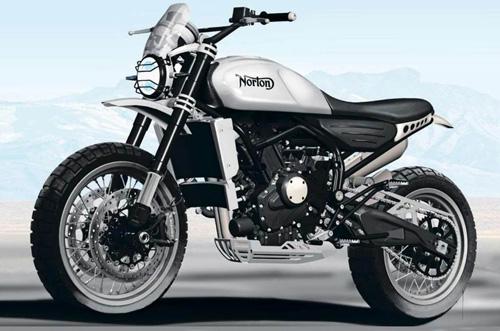 Norton Atlas 650 mới xuất hiện, ngầu hơn và đẹp hơn - 1
