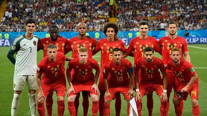 """Bỉ đấu Brazil: Trái tim gan dạ & giấc mơ cuối cho thế hệ vàng """"Quỷ đỏ"""" - 1"""