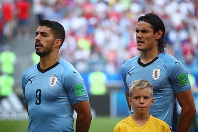 """Rực lửa tứ kết World Cup: Uruguay mơ vô địch với """"súng 2 nòng"""" Suarez - Cavani - 1"""