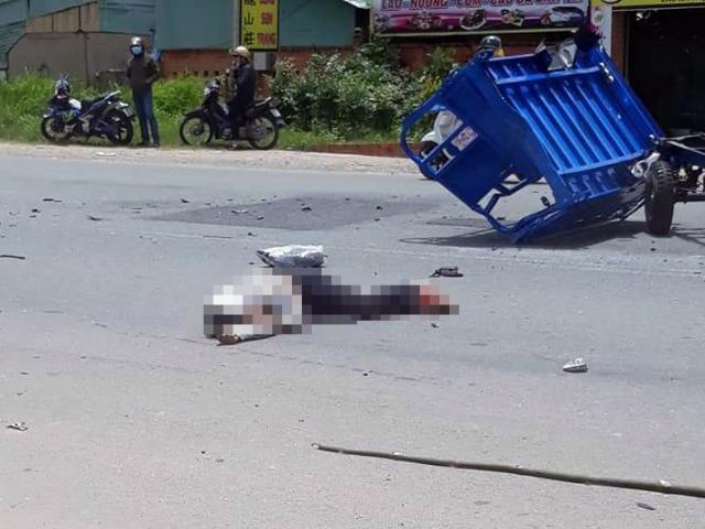 2 phương tiện đối đầu kinh hoàng, 3 người tử vong