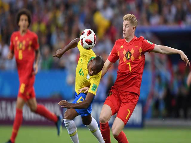 """Bỉ hạ Brazil vào bán kết World Cup: Thành bại tại Ngoại hạng Anh, """"tam tấu"""" hủy diệt"""