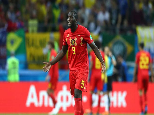 """Bỉ đánh bại Brazil: """"Ông trùm"""" Lukaku truyền lửa, dáng dấp vua châu Âu Ronaldo"""