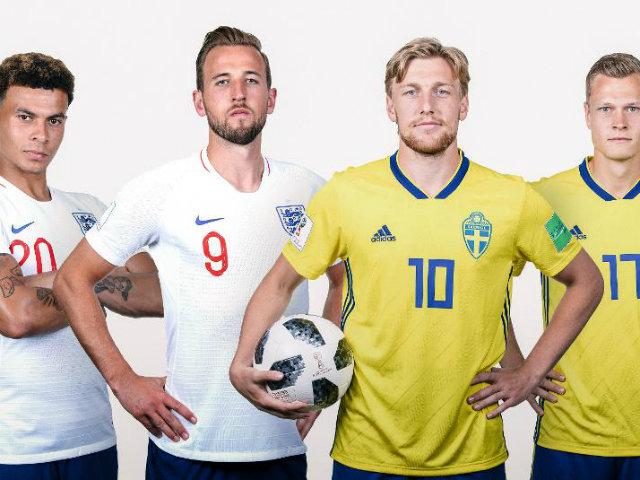 """World Cup, Thụy Điển - Anh: Đợi Kane tỏa sáng, """"khoan bê tông"""" Thụy Điển"""