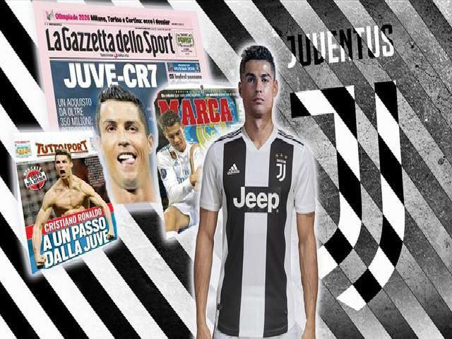 """Ronaldo sắp đến Juventus: """"Lão bà"""" mơ bá vương C1, Serie A thành """"thiên đường"""""""