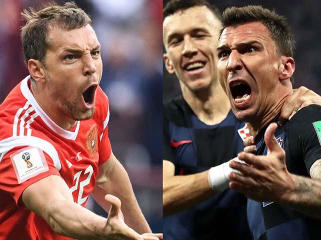 World Cup, Nga – Croatia: Giấc mơ chủ nhà & ngọn núi Modric, Rakitic