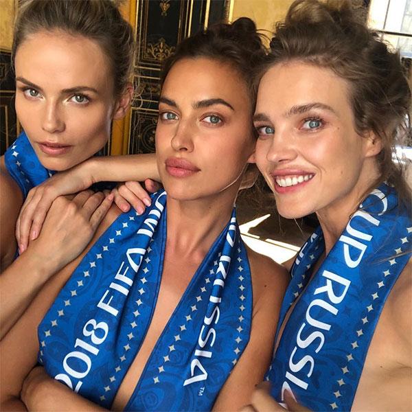 3 người đẹp Nga nghẹn ngào thua trận, dù đã cởi áo cổ vũ đội nhà - 1
