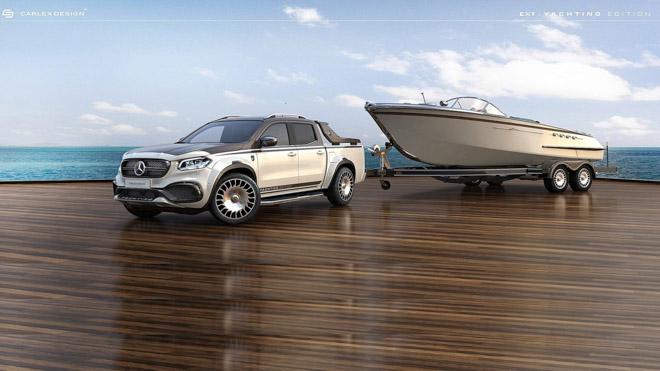"""Bán tải Mercedes-benz XClass """"lột xác"""" siêu sang trọng dưới bàn tay của Carlex Design - 1"""