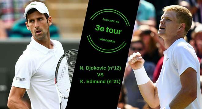 Djokovic - Edmund: 3 giờ kịch chiến, 4 set định đoạt (Vòng 3 Wimbledon) - 1