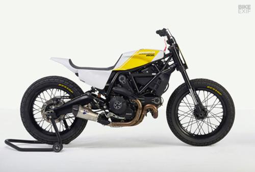 """Ducati Scrambler hóa """"dũng sĩ"""" đường đua - 1"""