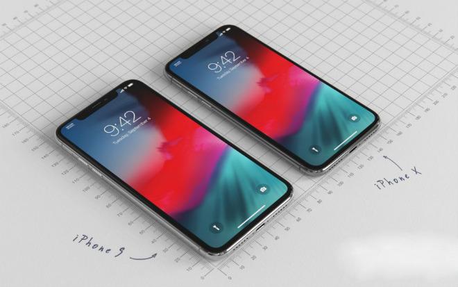"""iPhone 9 giá bằng nửa iPhone X đẹp đến nỗi fan """"ngất lịm"""" - 1"""